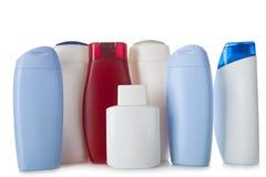 τα καλλυντικά μπουκαλιών απομόνωσαν το λευκό Στοκ εικόνα με δικαίωμα ελεύθερης χρήσης