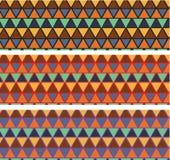 Τα κεραμίδια μωσαϊκών πρόβλεψης των διάφορων χρωμάτων αφαιρούν αρχιτεκτονικό Στοκ Εικόνες
