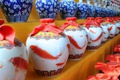 τα κεραμικά κινέζικα Στοκ Φωτογραφία