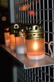 Τα κεριά Στοκ Φωτογραφίες