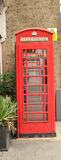 τα κιβώτια Βρετανοί τηλε&phi Στοκ Εικόνα