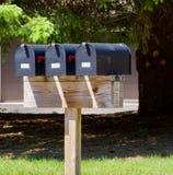τα κιβώτια ταχυδρομούν α&gamm Στοκ εικόνα με δικαίωμα ελεύθερης χρήσης