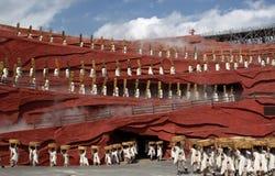 τα κινέζικα χορεύουν λαό&sig Στοκ Εικόνα