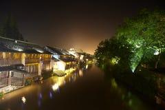 Τα κινεζικά υδατώδη πόλης κτήρια Στοκ φωτογραφίες με δικαίωμα ελεύθερης χρήσης