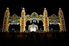 Τα κολομβιανά φεστιβάλ Στοκ φωτογραφία με δικαίωμα ελεύθερης χρήσης