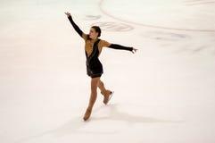 Τα κορίτσια ανταγωνισμών λογαριάζουν το σκέιτερ Στοκ Φωτογραφία