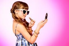 Τα κορίτσια ετοιμάζουν Στοκ φωτογραφία με δικαίωμα ελεύθερης χρήσης