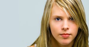 τα κορίτσια κοιτάζουν Στοκ φωτογραφία με δικαίωμα ελεύθερης χρήσης
