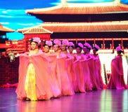 Τα κορίτσι-μεγάλα σενάρια show† κλίμακας δυναστείας του Tang ο δρόμος legend† Στοκ εικόνα με δικαίωμα ελεύθερης χρήσης