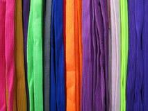 Τα κορδόνια όλα χρωματίζουν ζωηρόχρωμο Στοκ φωτογραφία με δικαίωμα ελεύθερης χρήσης