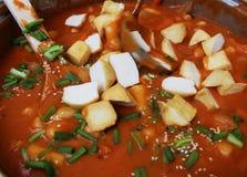 Τα κορεατικά τρόφιμα στοκ εικόνα