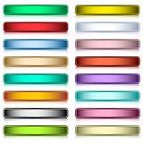 τα κουμπιά που τίθενται τ&om Στοκ εικόνα με δικαίωμα ελεύθερης χρήσης