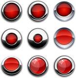 τα κουμπιά συνόρων επιχρω& απεικόνιση αποθεμάτων