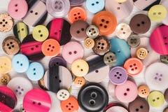 τα κουμπιά χρωμάτισαν το διαφορετικό καθορισμένο διάνυσμα απεικόνισης Στοκ Φωτογραφίες