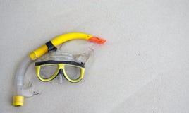 Τα κολυμπώντας με αναπνευτήρα γυαλιά Στοκ φωτογραφία με δικαίωμα ελεύθερης χρήσης