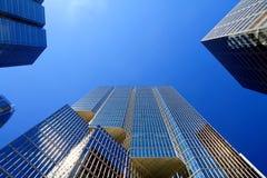 τα κτήρια αφαιρούν τον πυρήνα το οικονομικό Τορόντο Στοκ εικόνες με δικαίωμα ελεύθερης χρήσης