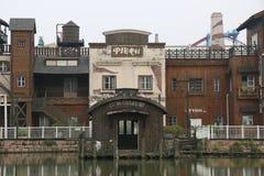 Τα κτήρια κρεμούν μέσα Zhou Στοκ εικόνες με δικαίωμα ελεύθερης χρήσης