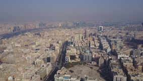 Τα κτήρια στο εμιράτο του Ντουμπάι εναέρια όψη Ντουμπάι, Ηνωμένα Αραβικά Εμιράτα Εναέρια άποψη του εμπορικού κέντρου φιλμ μικρού μήκους