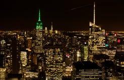 Τα κτήρια του Μανχάταν, Νέα Υόρκη Στοκ Εικόνες
