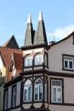τα κτήρια celle Γερμανία εφοδίασαν με ξύλα κατά το ήμισυ Στοκ φωτογραφία με δικαίωμα ελεύθερης χρήσης