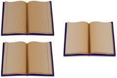 Τα κυβερνημένα βιβλία Στοκ Εικόνες