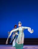 """Τα κύματα της νεράιδα-έκτης πράξης ποτίζουν τις υπερχειλίσεις χρυσό λόφος-Kunqu Opera""""Madame άσπρο Snake† Στοκ φωτογραφία με δικαίωμα ελεύθερης χρήσης"""