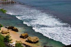 Τα κύματα Στοκ εικόνες με δικαίωμα ελεύθερης χρήσης