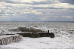 Τα κύματα Embo Στοκ φωτογραφία με δικαίωμα ελεύθερης χρήσης