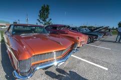 Τα κλασικά αυτοκίνητα παρουσιάζουν στοκ εικόνες με δικαίωμα ελεύθερης χρήσης