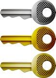 Τα κλειδιά Στοκ Εικόνες