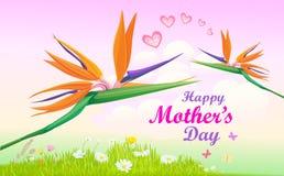 Τα λουλούδια για όλες τις μητέρες ελεύθερη απεικόνιση δικαιώματος