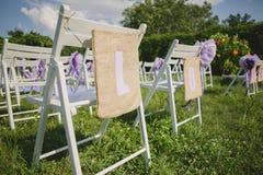 Τα λουλούδια διακοσμούν έναν όμορφο γάμο Στοκ Εικόνα