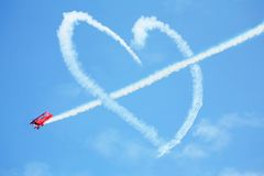 τα ΛΦ Μαϊάμι αέρα εμφανίζουν Στοκ φωτογραφίες με δικαίωμα ελεύθερης χρήσης