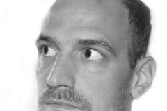 Τα μάτια κλείνουν επάνω το πρόσωπο Στοκ εικόνα με δικαίωμα ελεύθερης χρήσης