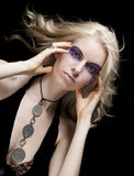 τα μάτια μαγικά αποτελούν Στοκ φωτογραφία με δικαίωμα ελεύθερης χρήσης