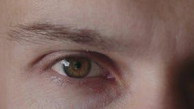 Τα μάτια ωριμάζουν τα άτομα απόθεμα βίντεο