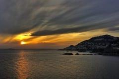 Τα μαγικά sunsets Στοκ Εικόνες