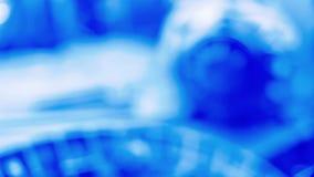 Τα μαλακά μπλε υπόβαθρα, υψηλή τεχνολογία οι ιδέες φιλμ μικρού μήκους