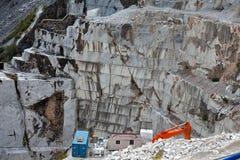 Τα μαρμάρινα λατομεία - Apuan Άλπεις, Καρράρα, Στοκ φωτογραφία με δικαίωμα ελεύθερης χρήσης