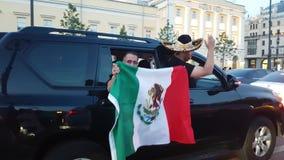 Τα μεξικάνικα funs απόθεμα βίντεο