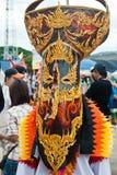 Τα μη αναγνωρισμένα άτομα φορούν τη μάσκα φαντασμάτων. Στοκ φωτογραφίες με δικαίωμα ελεύθερης χρήσης