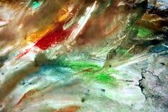 Τα μικτά χρώματα κρητιδογραφιών, χρωματίζουν το ρομαντικό υπόβαθρο Χρωματίζοντας σημεία Στοκ Φωτογραφία
