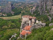 Τα μοναστήρια Meteora, Ελλάδα Στοκ Εικόνες