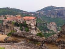 Τα μοναστήρια Meteora, Ελλάδα Στοκ φωτογραφίες με δικαίωμα ελεύθερης χρήσης