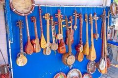Τα μουσικά όργανα Στοκ Φωτογραφίες