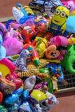 Τα μπαλόνια ζωηρόχρωμα στοκ φωτογραφία