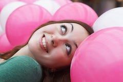 τα μπαλόνια κλείνουν το χ&al Στοκ Εικόνες