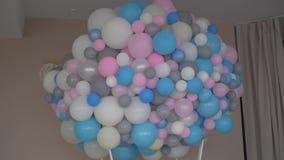 Τα μπαλόνια κόμματος παιδιών ` s απόθεμα βίντεο