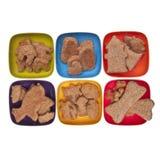 Τα μπισκότα ή PET μεταχειρίζονται Στοκ Φωτογραφία