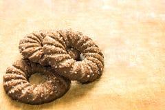 Τα μπισκότα βρίσκονται στον πίνακα Στοκ φωτογραφία με δικαίωμα ελεύθερης χρήσης